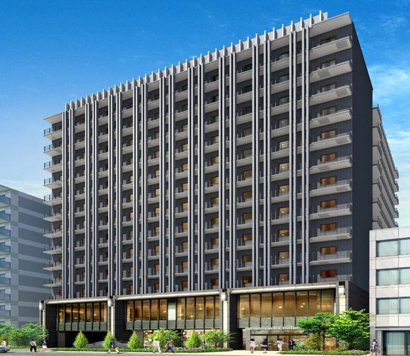 ภาพโรงแรมใหม่ใน Shisaibashi ที่โอซาก้า เปิดปลายปี 2017
