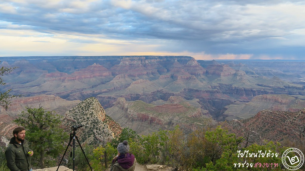 รวมจุดชมวิว Grand Canyon ฝั่ง South Rim