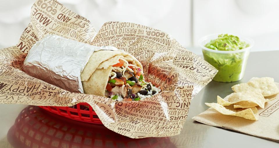 เบอริโต (Burrito) แป้งห่อเม็กซิกัน อาหารขึ้นชื่อของ Chipotle
