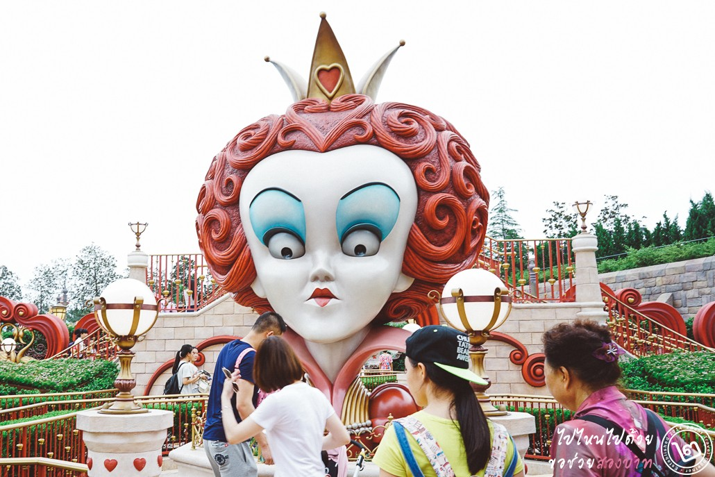 Shanghai Disneyland, alice in wonderland