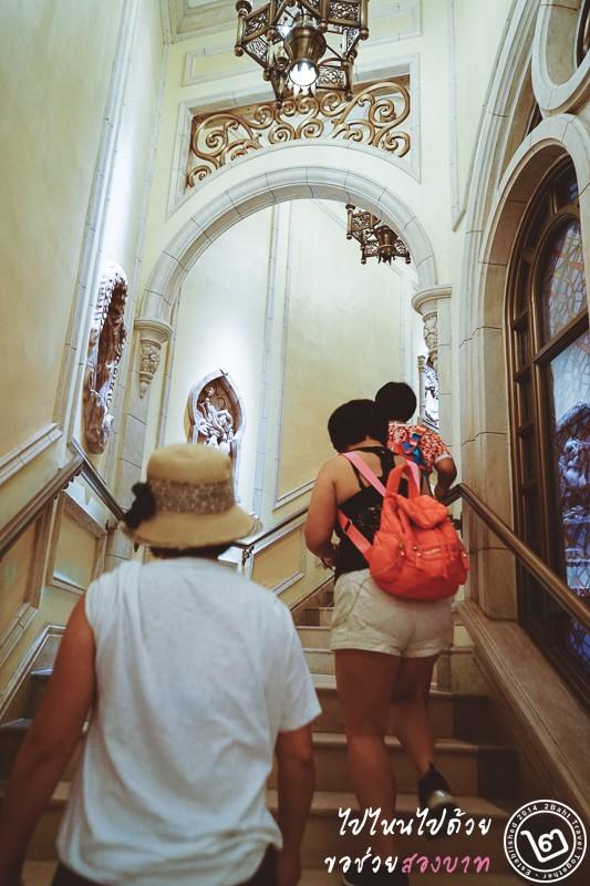 Shanghai Disneyland, castle, inside
