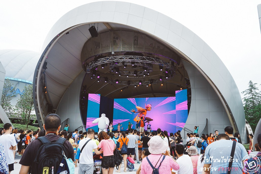 Shanghai Disneyland, tomorrowland