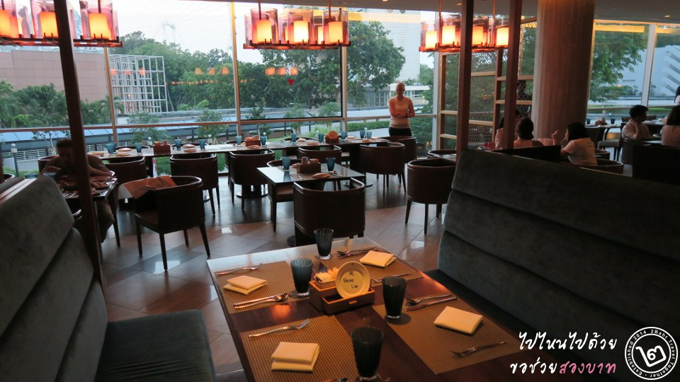edge restaurant - pan pacific