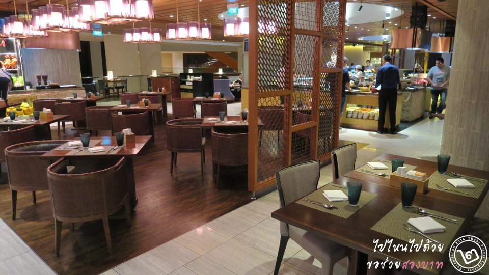 edge restaurant - pan pacific