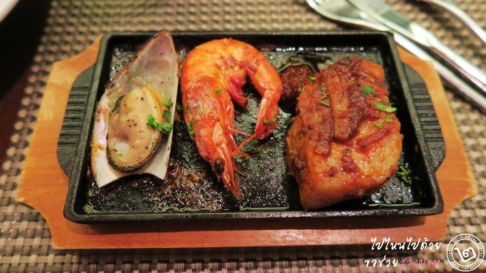 Edge Seafood Hotplate