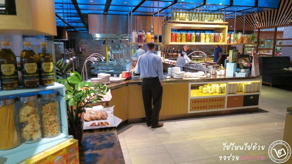 Pan Pacific Hotel Edge Restaurant