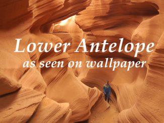 พาเที่ยว Lower Antelope งดงามดั่งเห็นจากรูป wallpaper