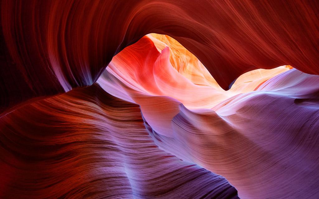 Antelope Canyon Wallpaper จาก OS X Mountain Lion