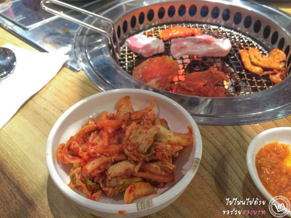 Nammaejib (นัมเมจิบ) ร้านหมูย่างเกาหลี ป้าญาณี สาขาซีคอนสแควร์