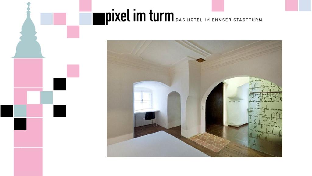 เก่าแก่ไม่เหมือนใคร โรงแรม Pixel Im Turm หนึ่งเดียวบนหอนาฬิกาเมือง Enns ออสเตรีย