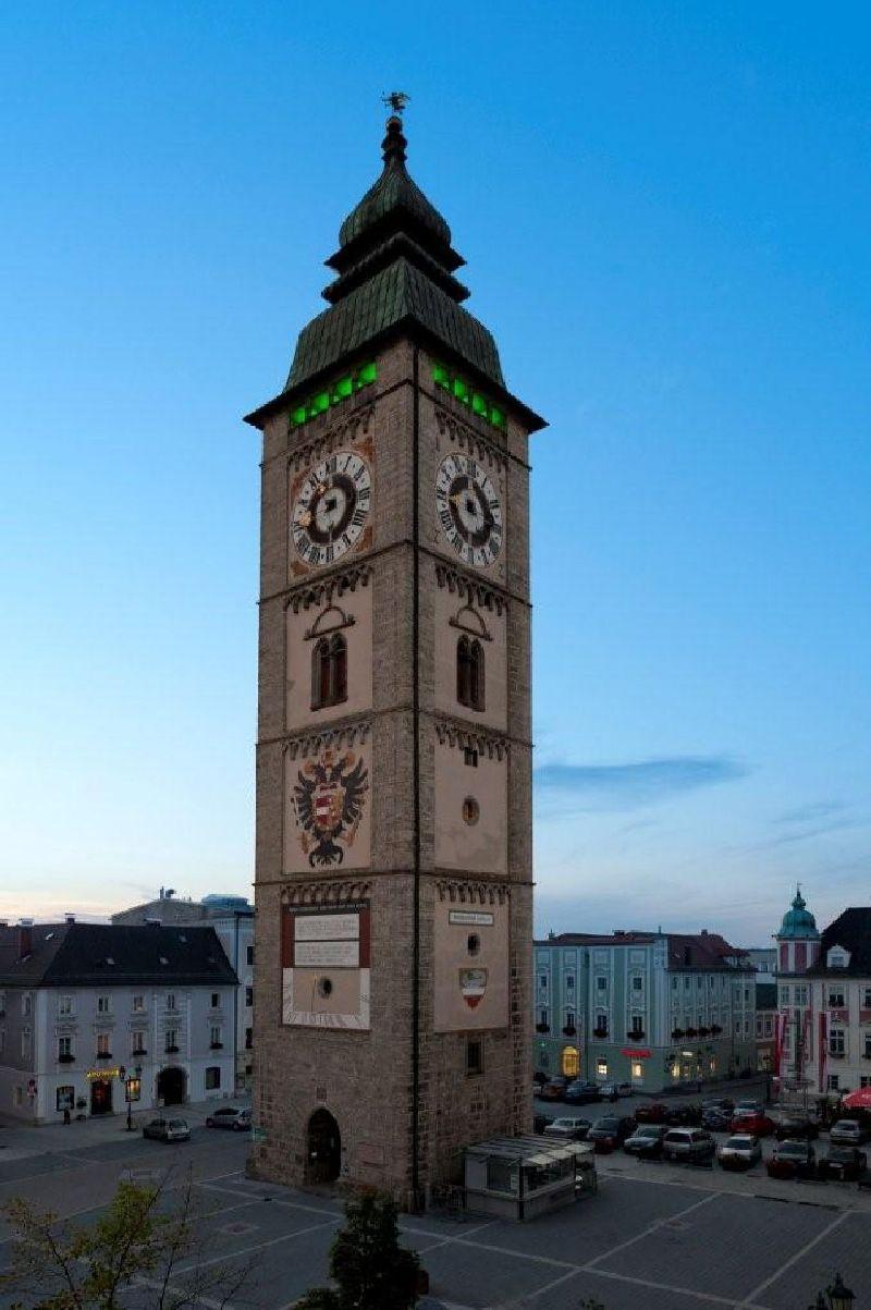หอคอยเมือง Enns ประเทศออสเตรีย