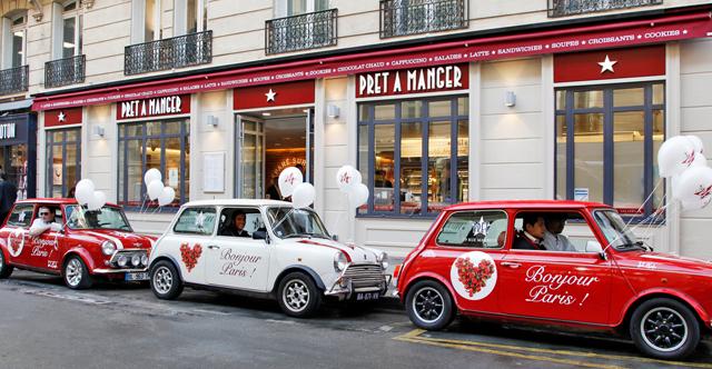 Pret a Manger สาขา Paris