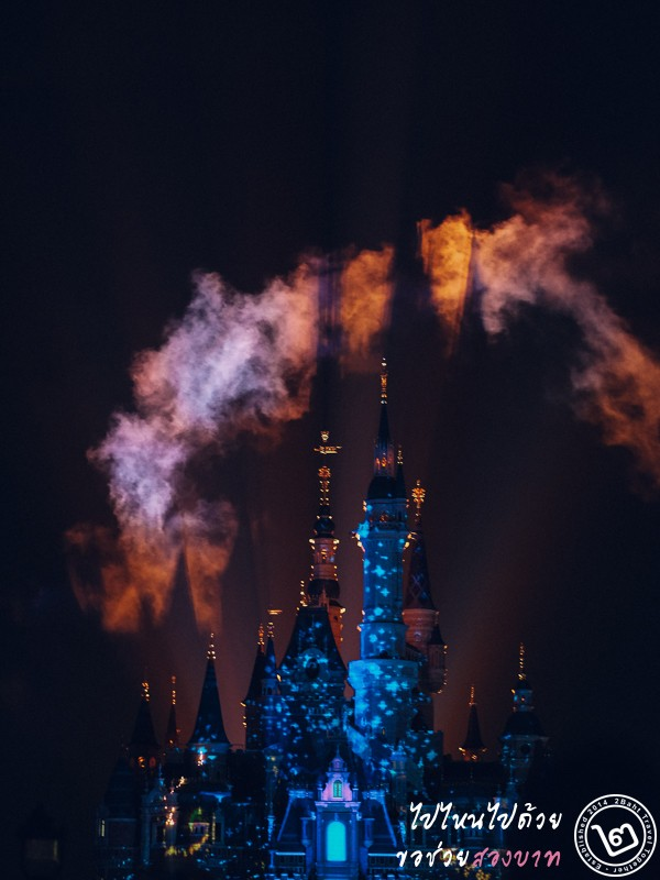 Ignite the Dream, Shanghai Disneyland, castle