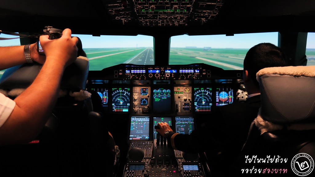Flight Simulator A380 การบินไทย