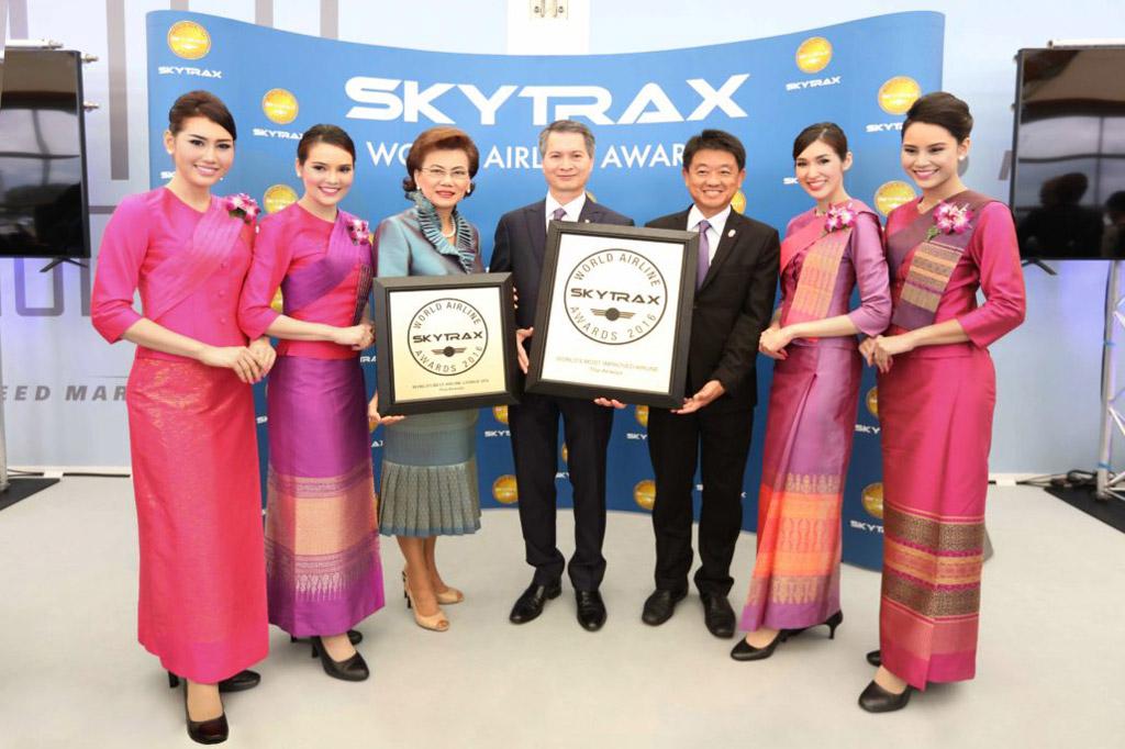 การบินไทย SkyTrax 2016