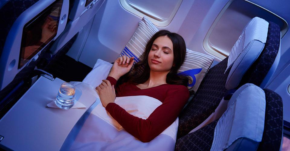 Air Astana Sleeper Economy