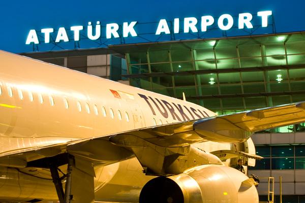 สนามบิน Ataturk Airport ของอิสตันบูล (ภาพจากเว็บไซต์สนามบิน)