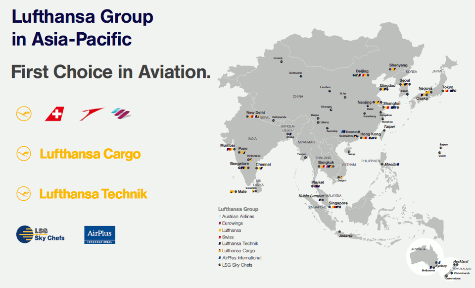 Lufthansa Group Asia
