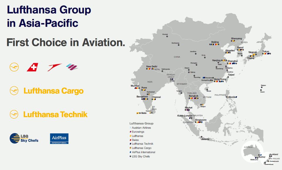 Lufthansa Group Asia
