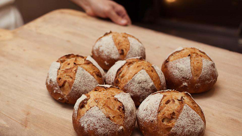 ขนมปังของร้าน Le Pain Quotidien