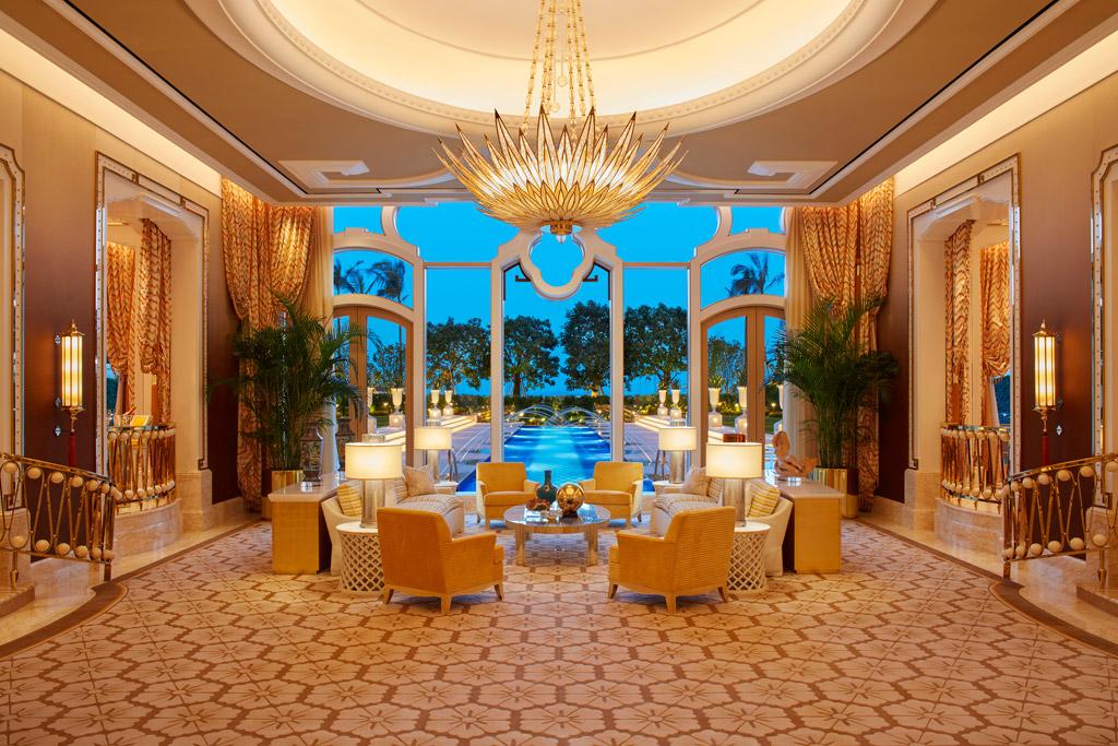 ห้อง Palace Garden Villa วิลล่าขนาดใหญ่ราว 700 ตารางเมตร โรงแรม Wynn Palace มาเก๊า