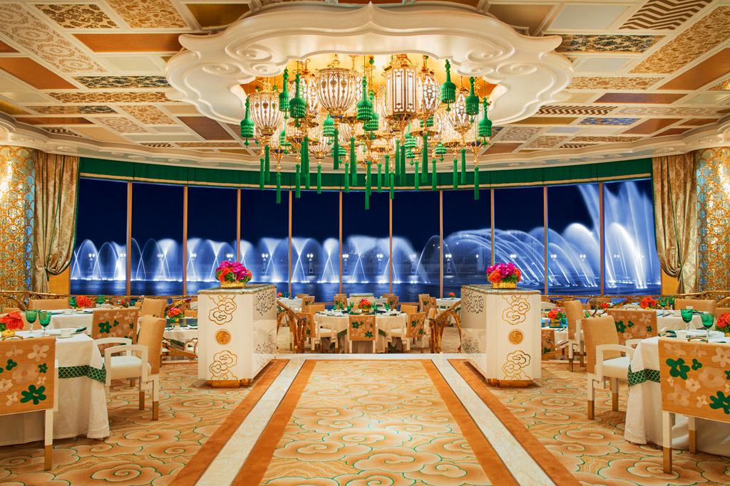 ภัตตาคารจีน Wing Lei Palace โรงแรม Wynn Palace