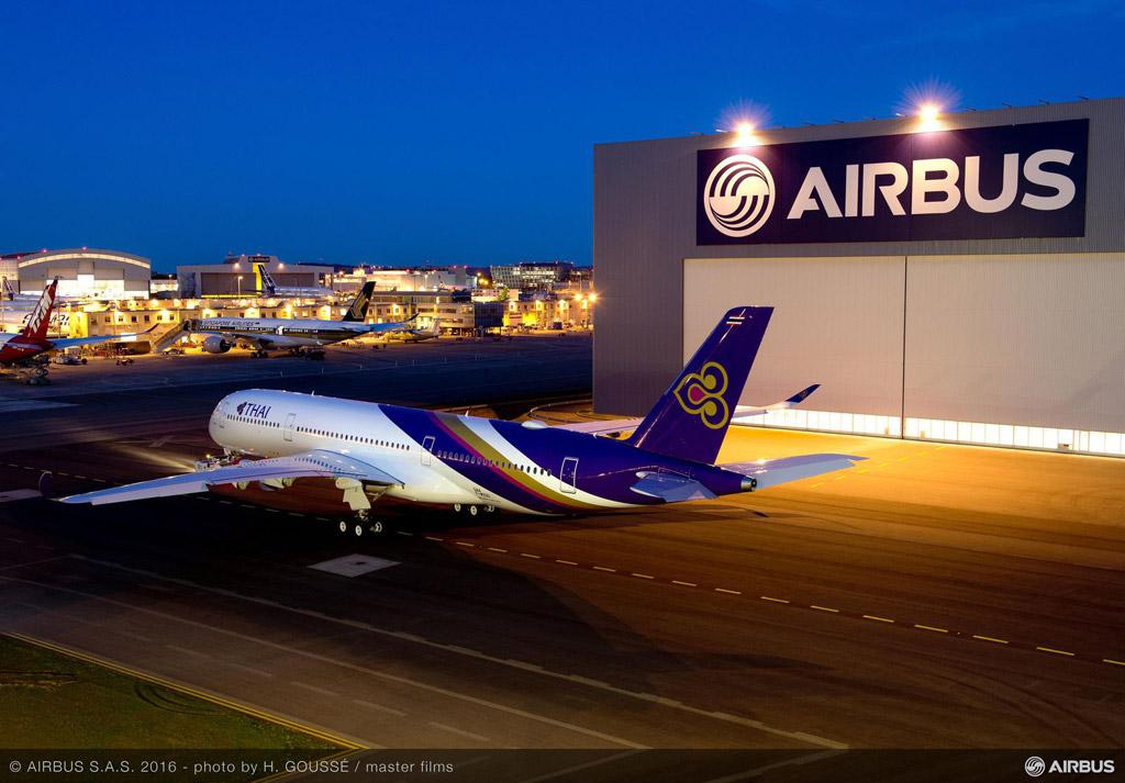 ภาพ A350-900XWB จาก A350xwb.com
