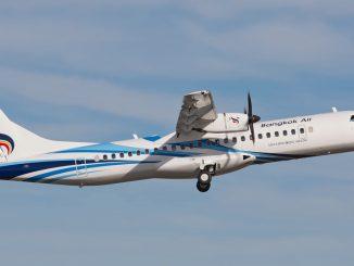 บางกอกแอร์เวย์ ATR72-600 ภาพประกอบจาก ATRAircraft.com