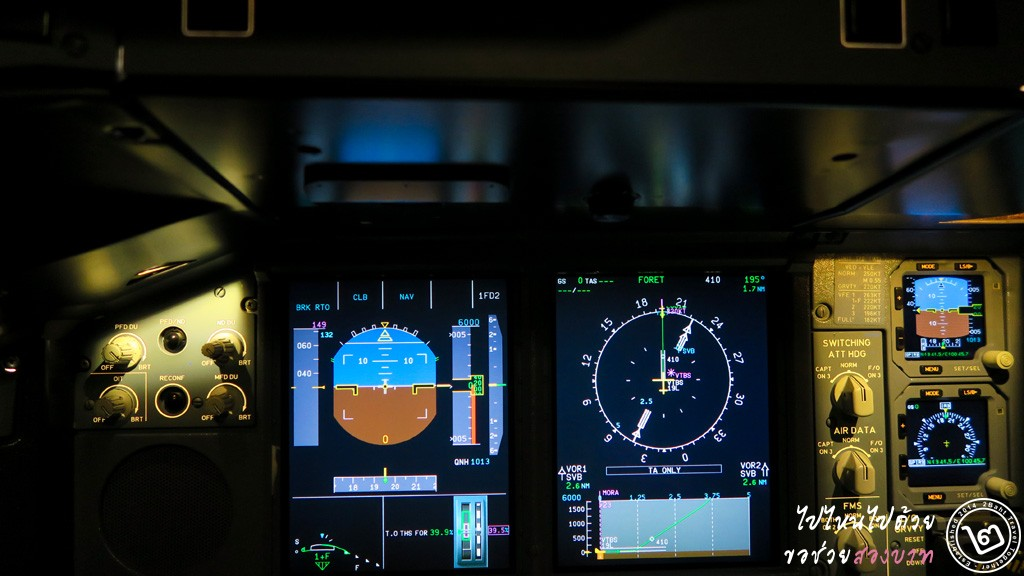 A380-800 (CAE 7000 Series) Flight Simulator Console