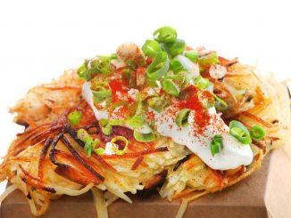Hash Brown สไตล์ฮ่องกง อร่อยระดับมิชลินไกด์ ร้าน 3 Potatoes ย่าน Mongkok