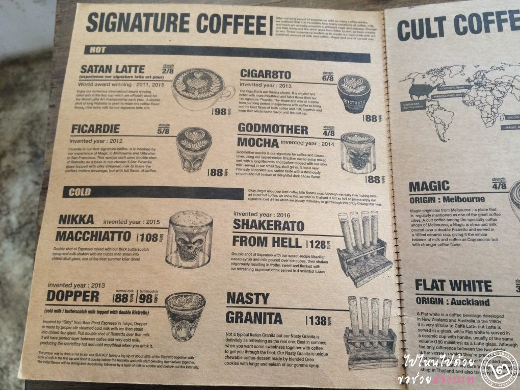 Ristr8to เชียงใหม่ กาแฟ cocktail ริสเทรตโต้