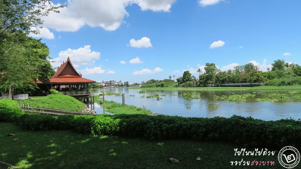 ห้องอาหารอินจัน ริมแม่น้ำท่าจีน สวนสามพรานริเวอร์ไซด์