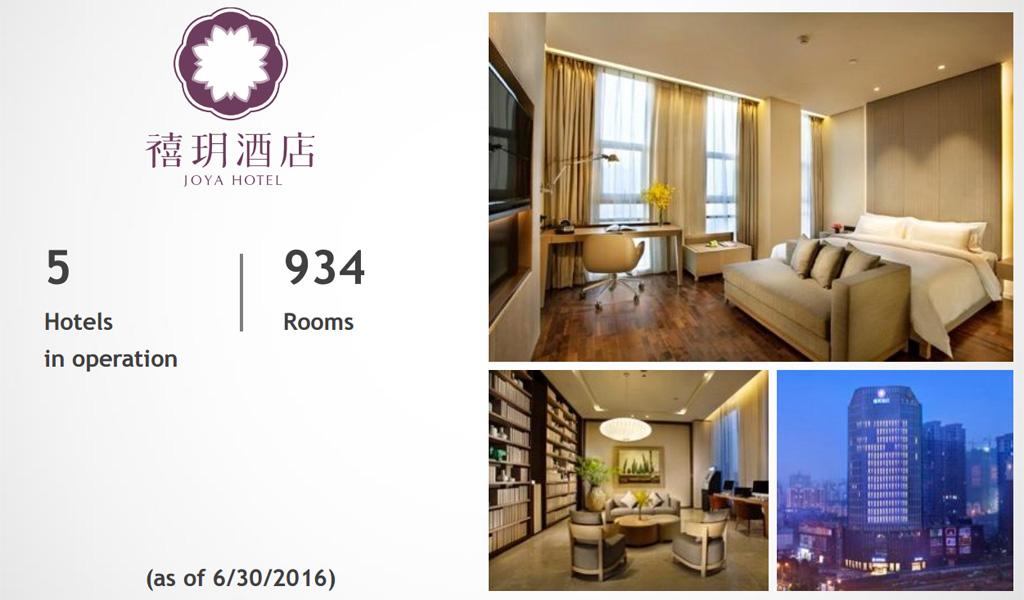 Joya Hotel แบรนด์โรงแรมระดับบนในเครือ Huazhu