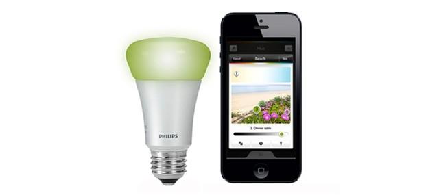 หลอดไฟ LED ควบคุมด้วยสมาร์ทโฟน IoT โรงแรม & And Hostel