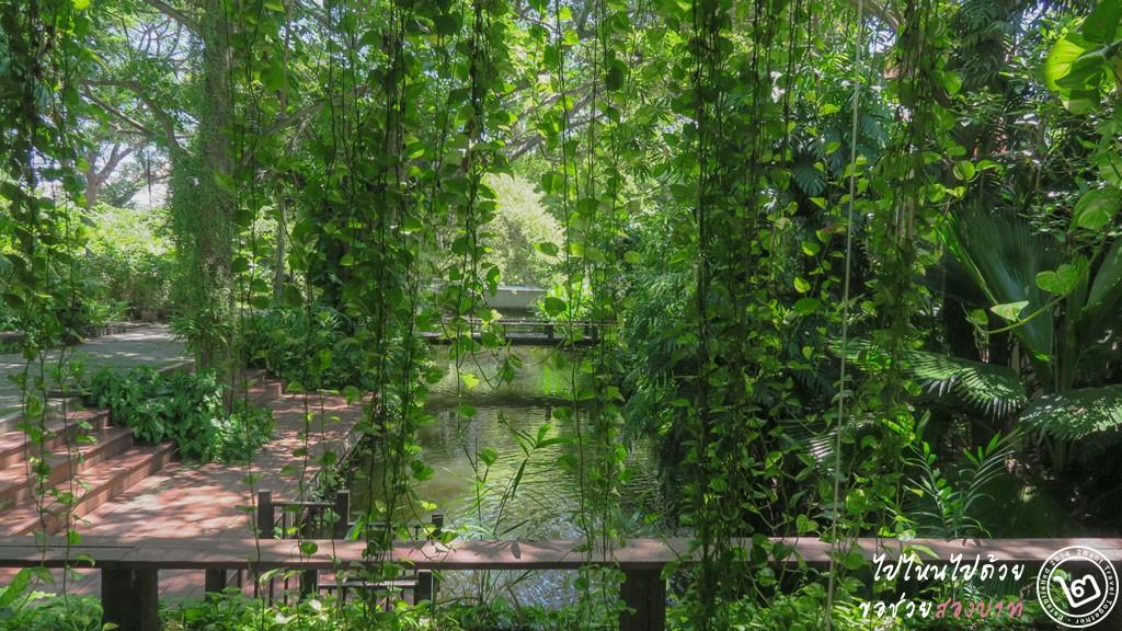 คาเฟ่ริมคลอง สวนสามพรานริเวอร์ไซด์