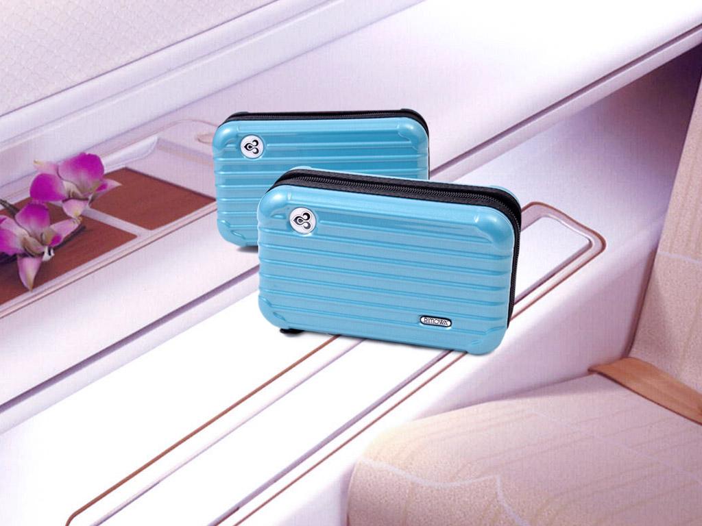 Amenity Kit ในกระเป๋า Rimowa สีฟ้าของการบินไทย ในวันแม่แห่งชาติ 2559