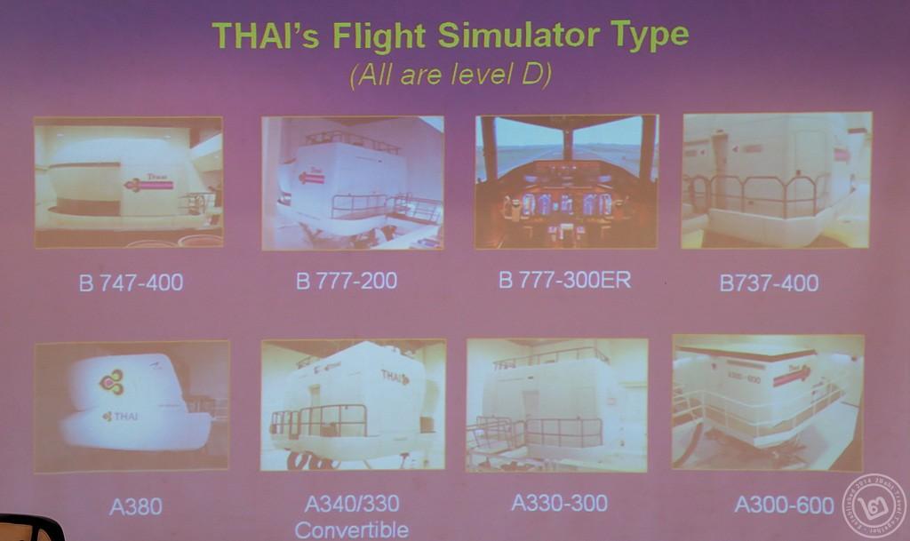 Thai Airways Flight Simulator