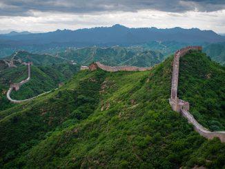 กำแพงเมืองจีน  Photo by Severin.stalder / Wikipedia