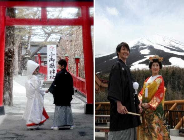 JTB Wedding Above Clouds at Mt.Fuji in Japan