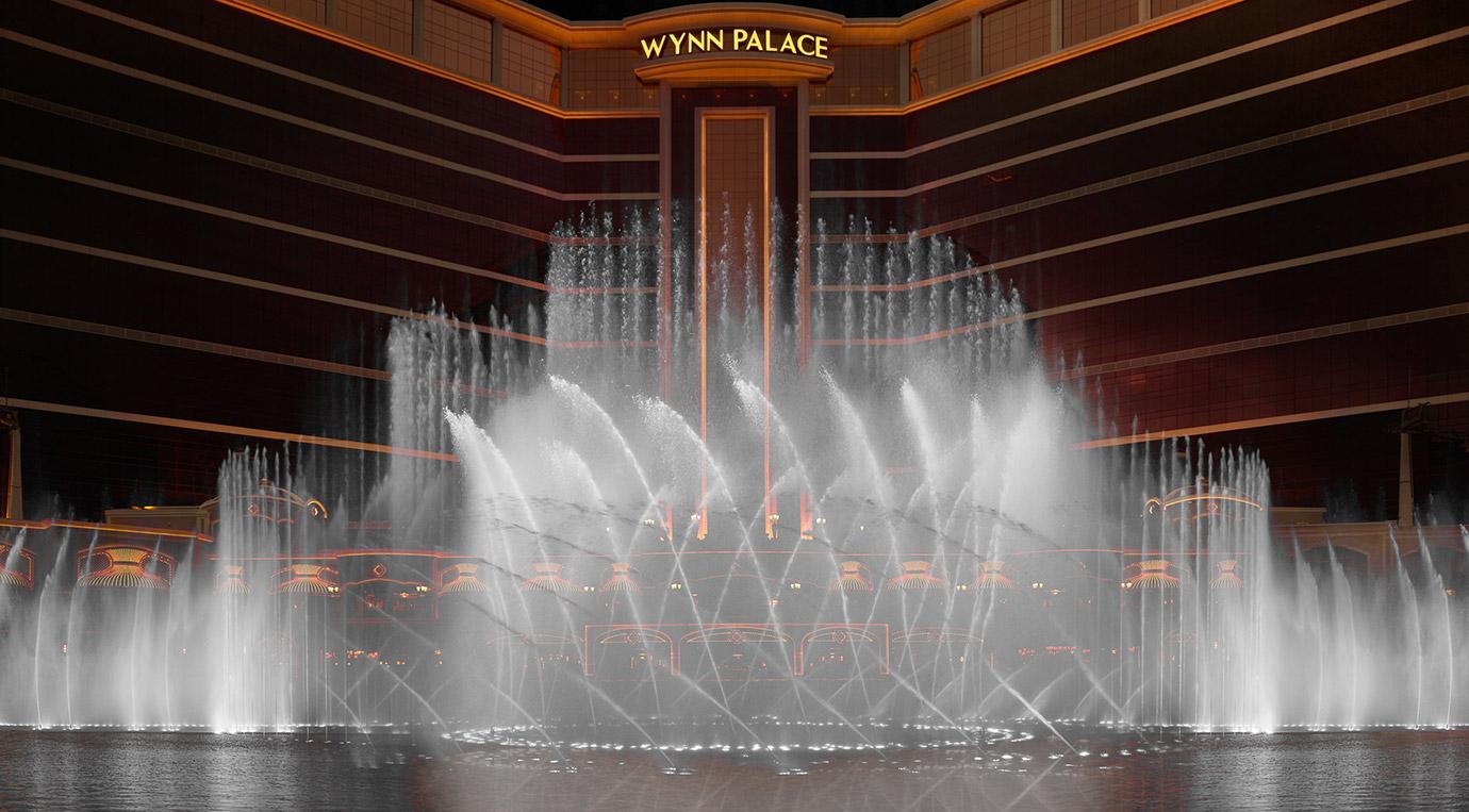 น้ำพุเต้นระบำ โรงแรม Wynn Palace เปิดใหม่ที่มาเก๊า