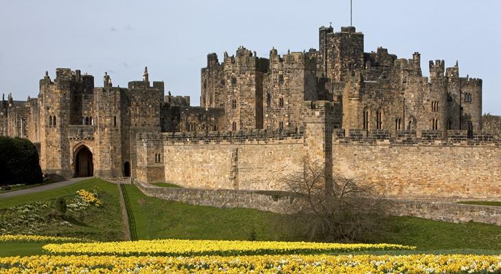 ภาพจาก Alnwick Castle