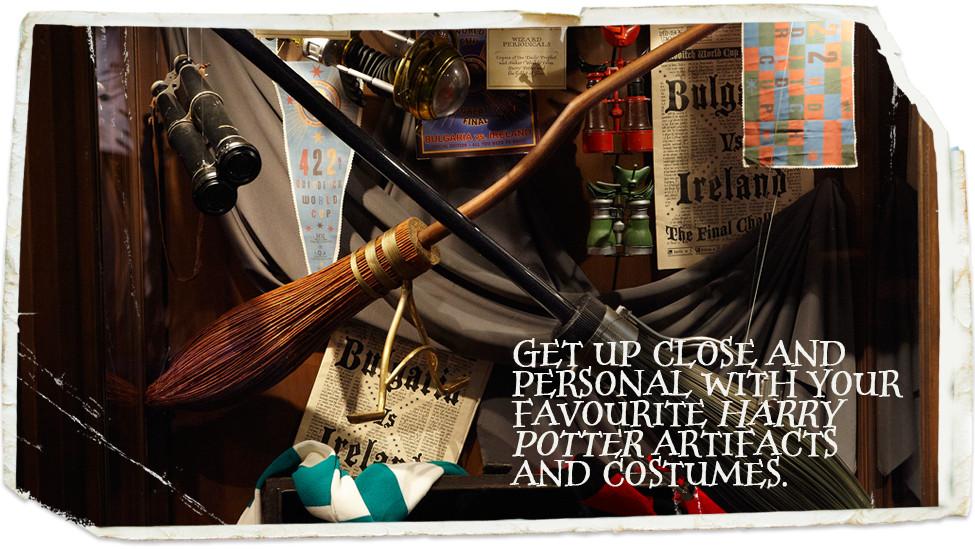ภาพจาก Harry Potter: The Exhibition