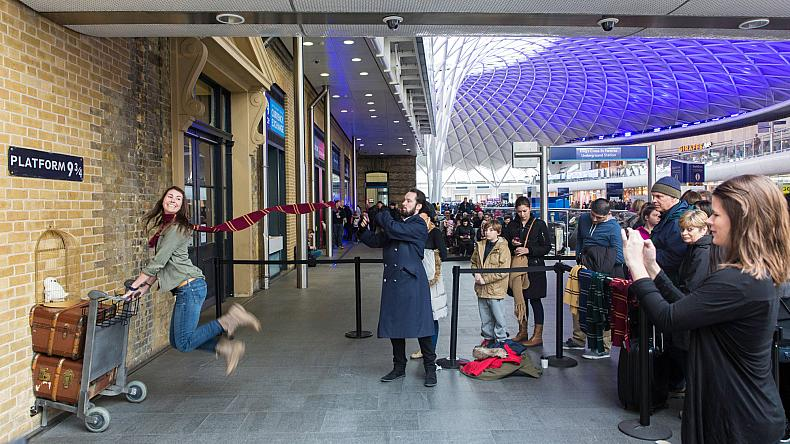 ภาพจาก King's Cross Station