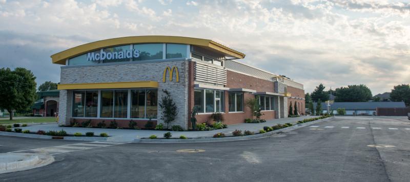 หน้าตาของ McDonald's สาขา Saint Joe