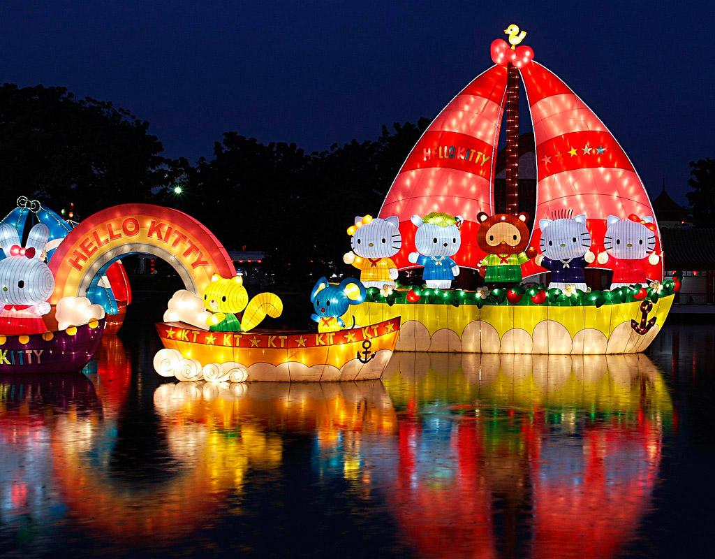เทศกาลโคมไฟ สวนจีน Chinese Garden สิงคโปร์