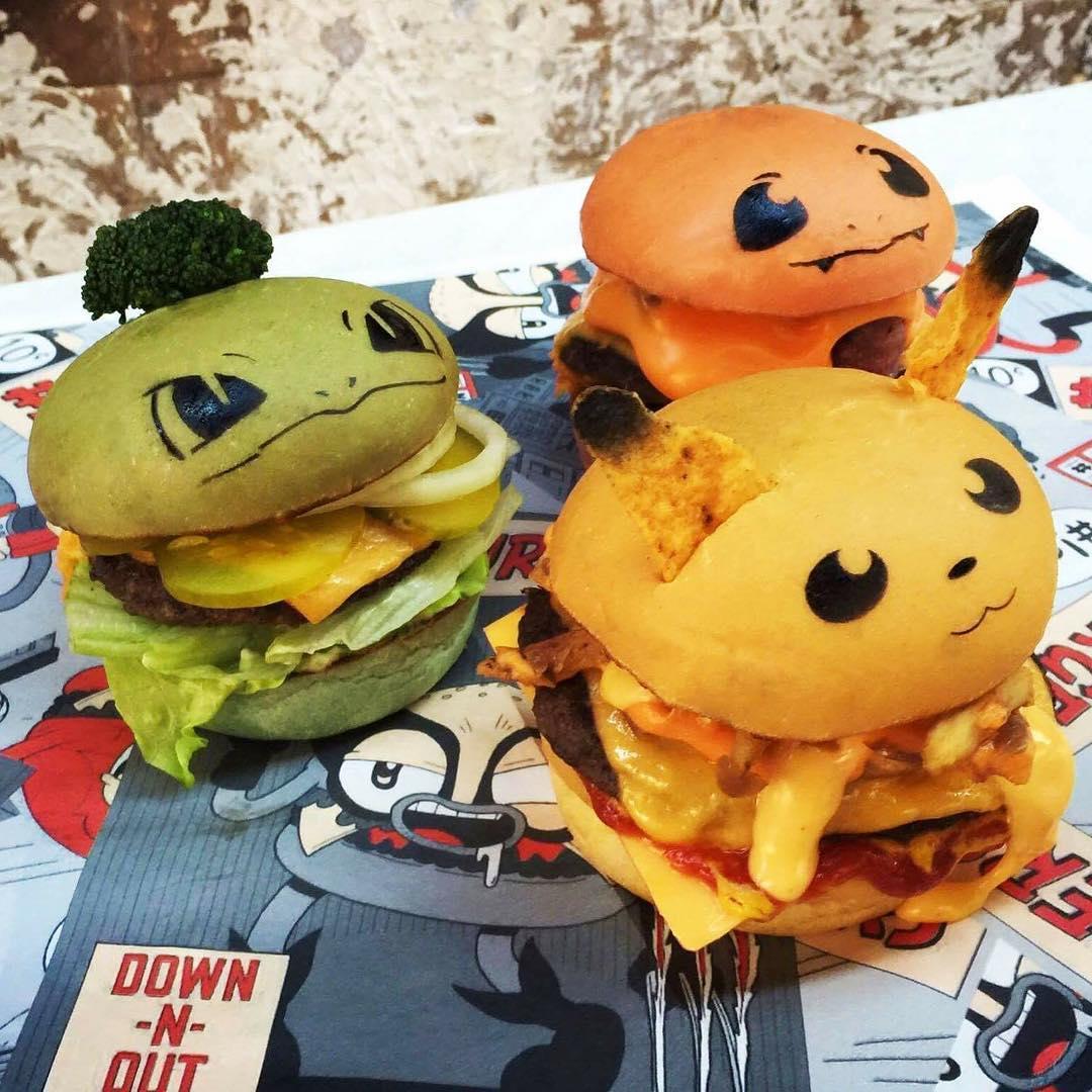 pokemon burger
