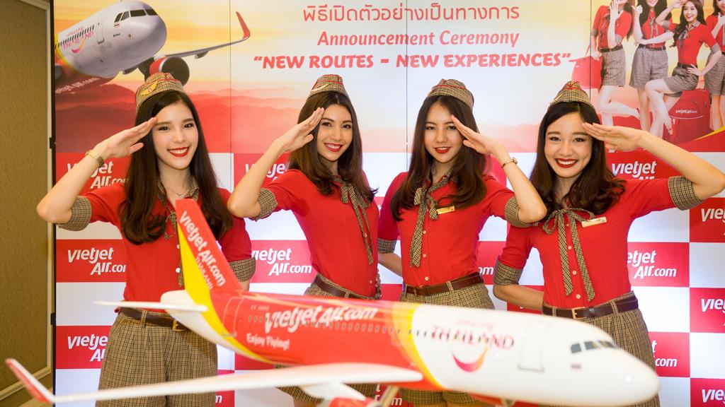 Thai VietJet สายการบินโลว์คอสต์ไทย-เวียดนาม เปิดตัวแล้ว