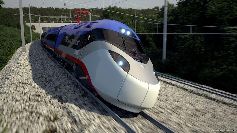 Alstom High Speed Train