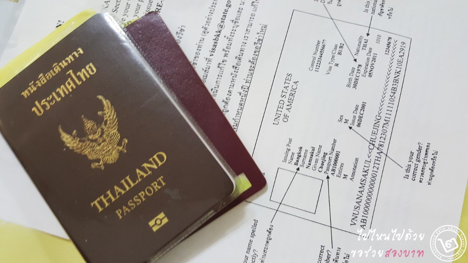 passport with usa visa