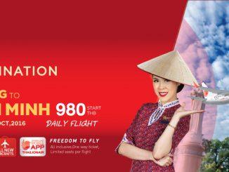 Thai Lion Air เปิดเส้นทางบินโฮจิมินห์-กว่างโจว ให้บริการทุกวัน